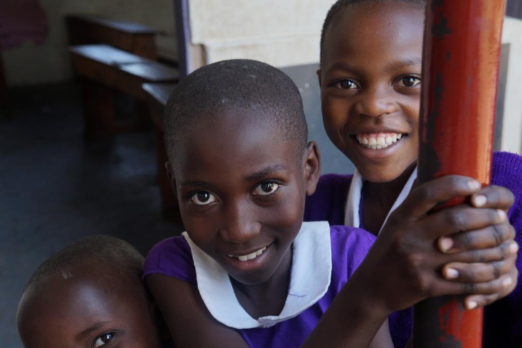 Girls at Nyaka Primary School