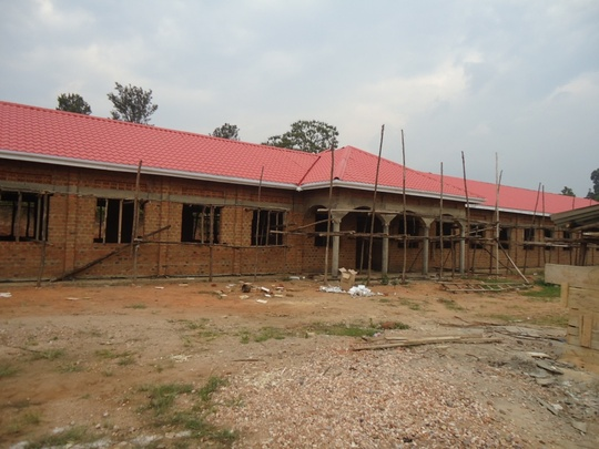 Girls' Dormitory Under Construction