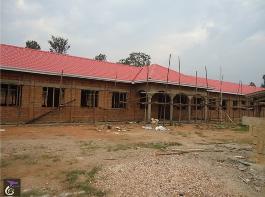 Girls' Dormitory with new roof!