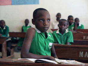 Kutamba Student in School and Ready to Learn