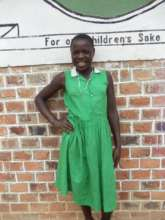 Primah in her Kutamba Primary School Uniform