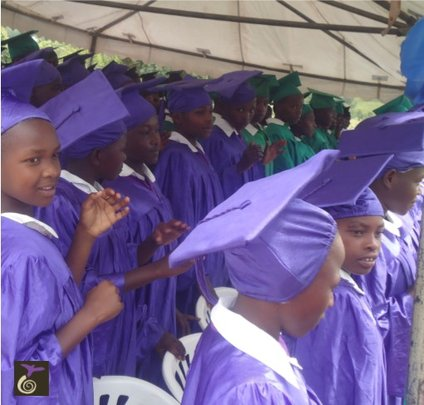 Graduating Nyaka Girls With Their Male Peers