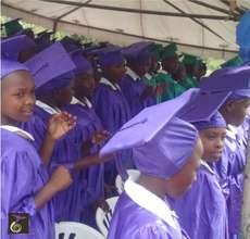 Graduating Nyaka Girls With Their Male Peers