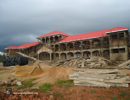 Nyaka Secondary School with new roof!