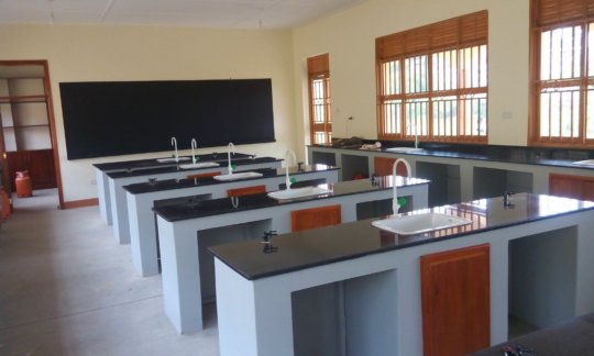 The biology lab your girls will be using at NVSS