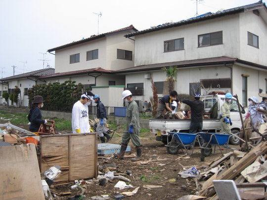 Debris Cleaning at Several Residences