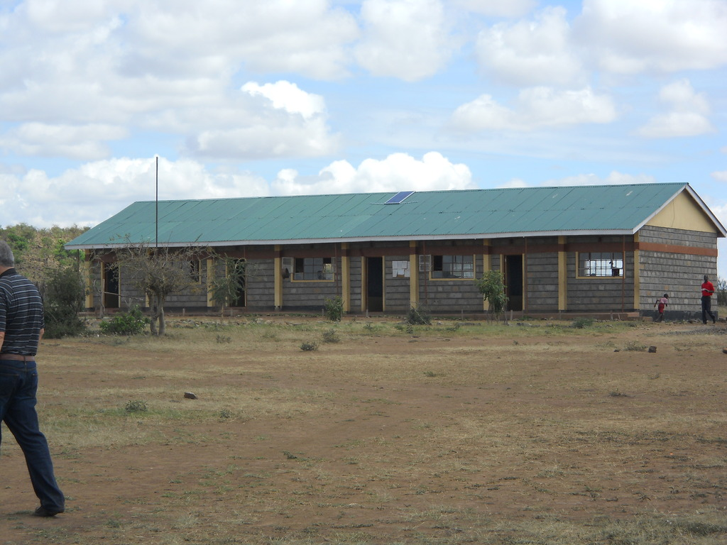 One of two classroom buildings at Mara Hills