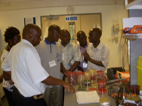 SEAVURIA's science training in Mombasa