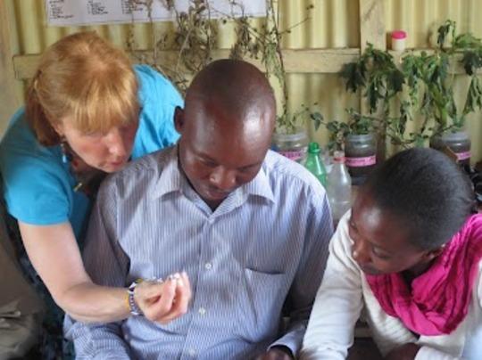 Mary Margaret training teachers