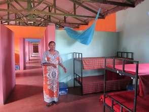 Bright new dormitories