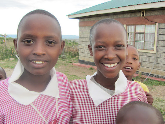 Two students from Mara Hills Academy