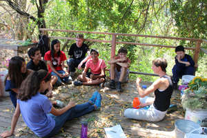 Lessons in our Outdoor Classroom