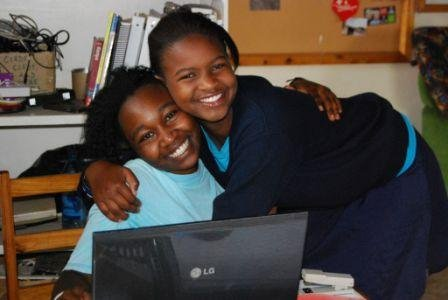 Students Maureen and Alice