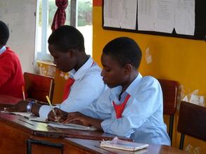Year 2 Kisa Scholars at Orkeeswa