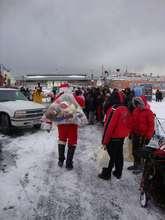 Our Santa Arriving-Ho! Ho! Ho!