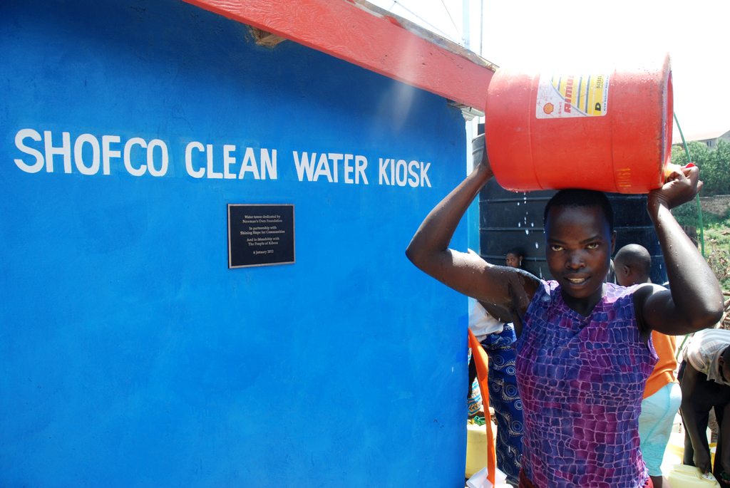 Providing clean water to 2,000 families everyday!