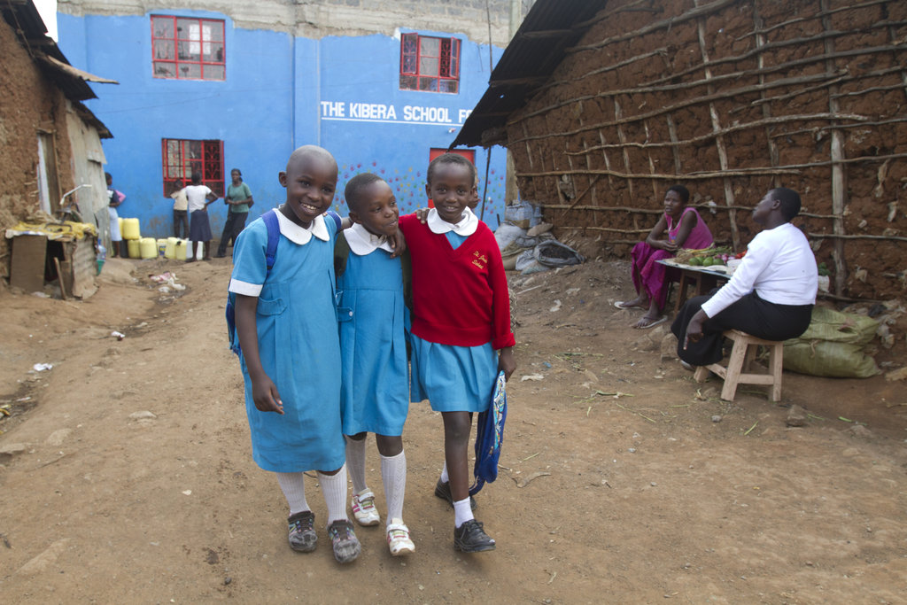 Students shine at the Kibera School for Girls!
