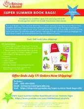 Super Summer Book Bag (PDF)
