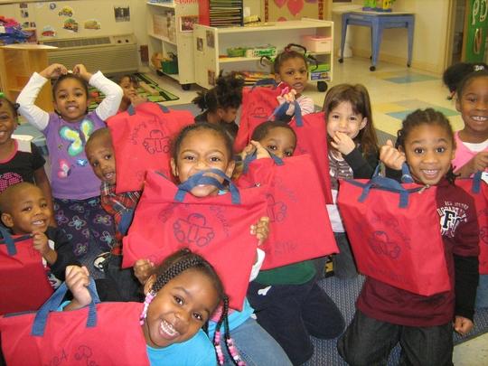 Happy Children at Affliate in North Carolina