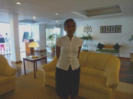 Lalitha at work