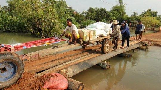 Bringing supplies