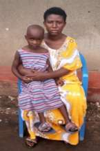 Moreen (20) and her 5 year old daughter Joylin