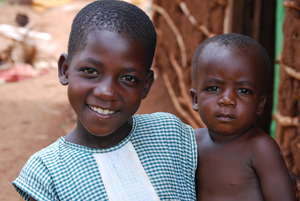 Beautiful girl, Jinja Uganda