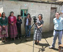 Making the productive activities video, Los Tuices