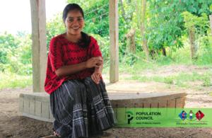 Claudia, mentor coordinator in Chisec