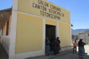 Community Center where the girls meet