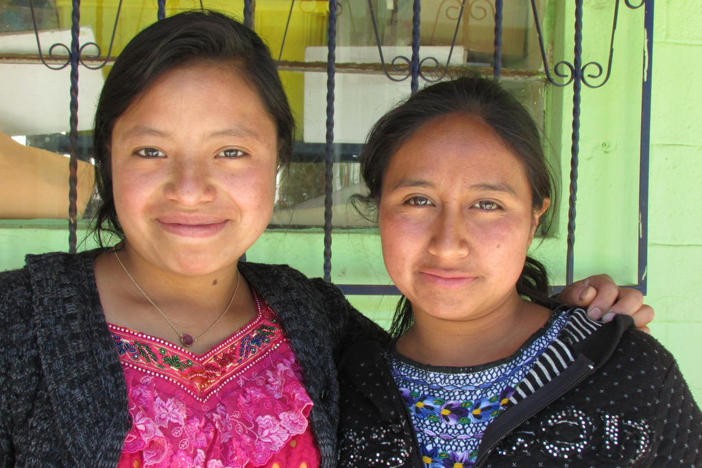 Angelica (on right) and her fellow changemaker