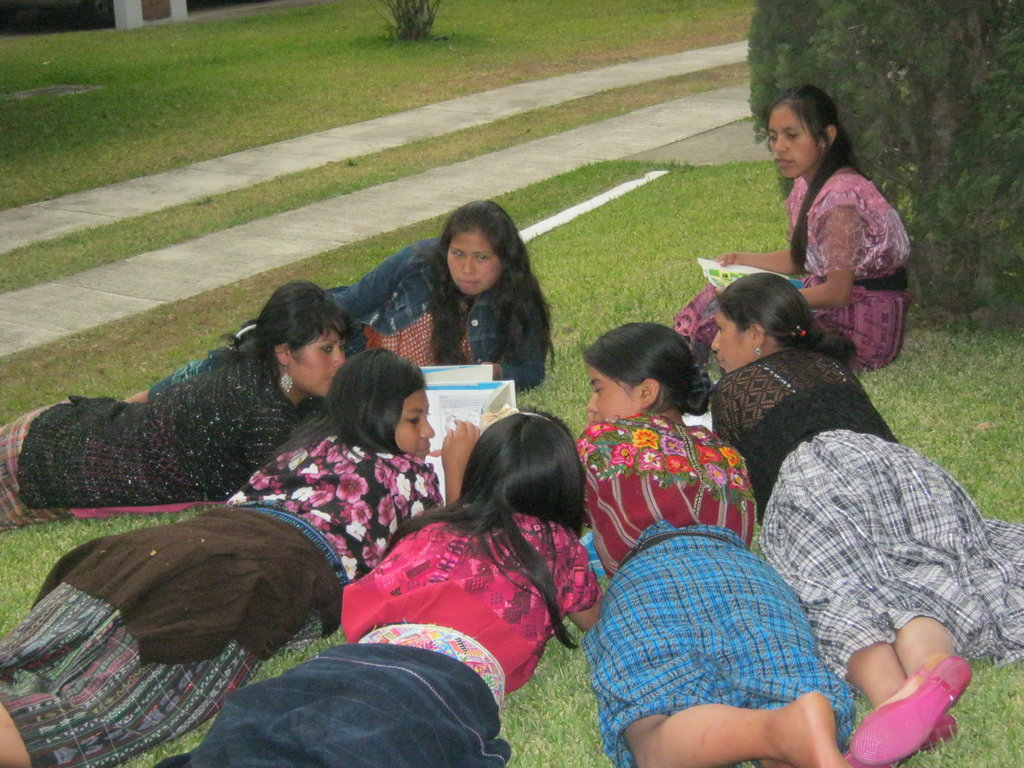 Group work during March workshop