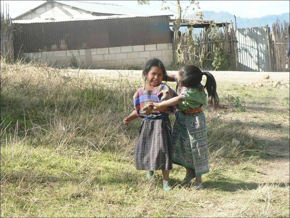 Girls from one of our Chimaltenango communities