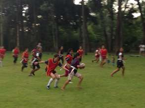 Tag rugby training