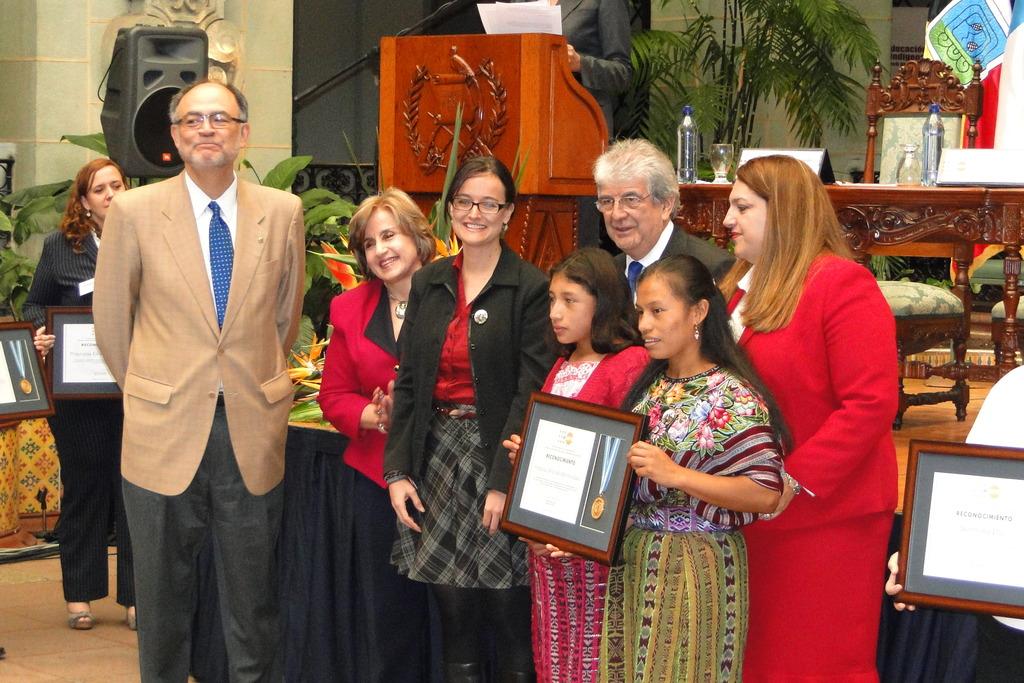 UN representatives, VP of Guatemala and AO