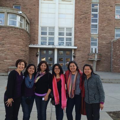 ADIMTU Team Visit Boulder High School