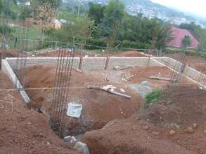Girls' Dorm Site and Construction Underway