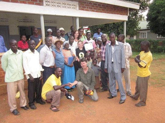 We Care Solar team in Uganda