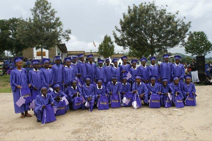 Nyaka Graduating Class of 2010