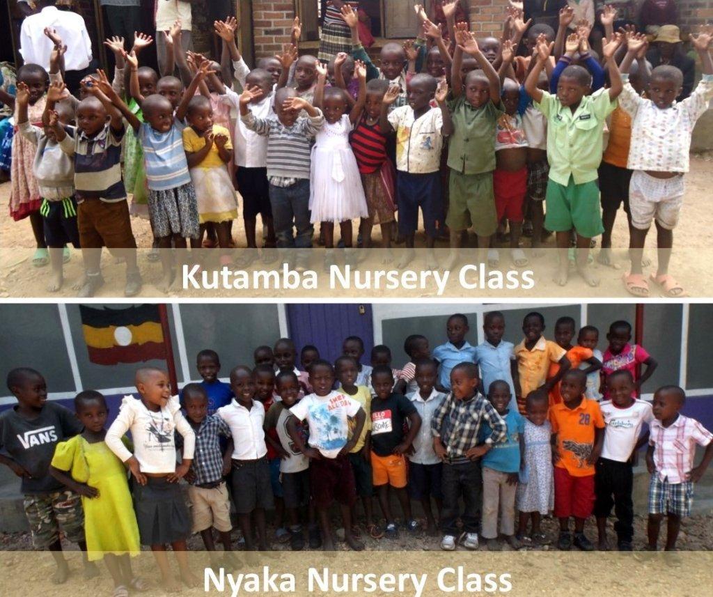 2017 Nursery Students