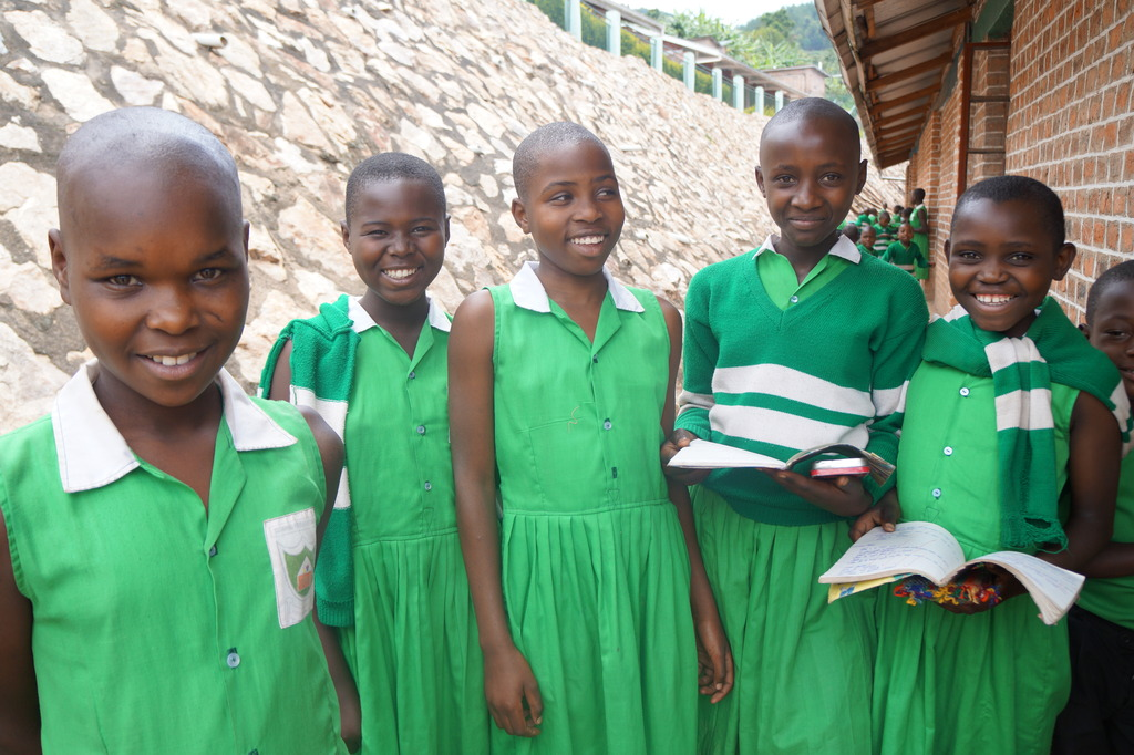 Kutamba Primary School Students at School