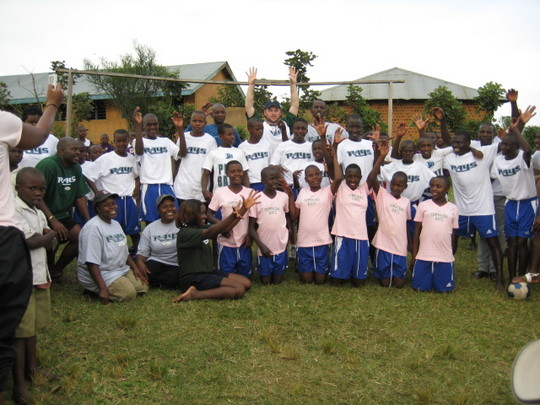 sports uniforms donated by Tampa Bay Rays