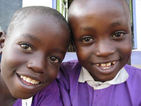 Smiles are everywhere at Nyaka!