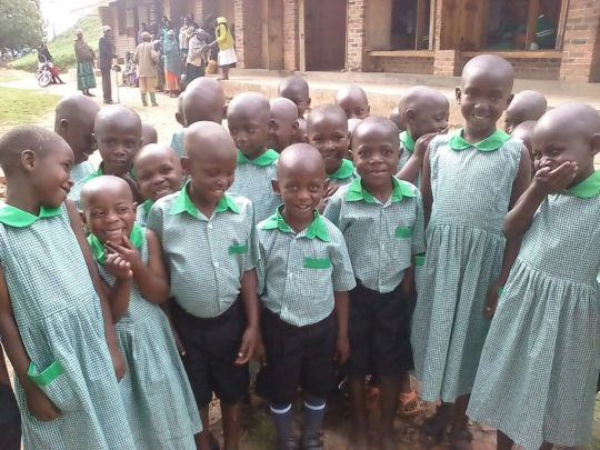 First day of school for Kutamba nursery students