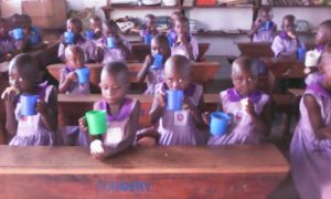 First day of school for Nyaka nursery students