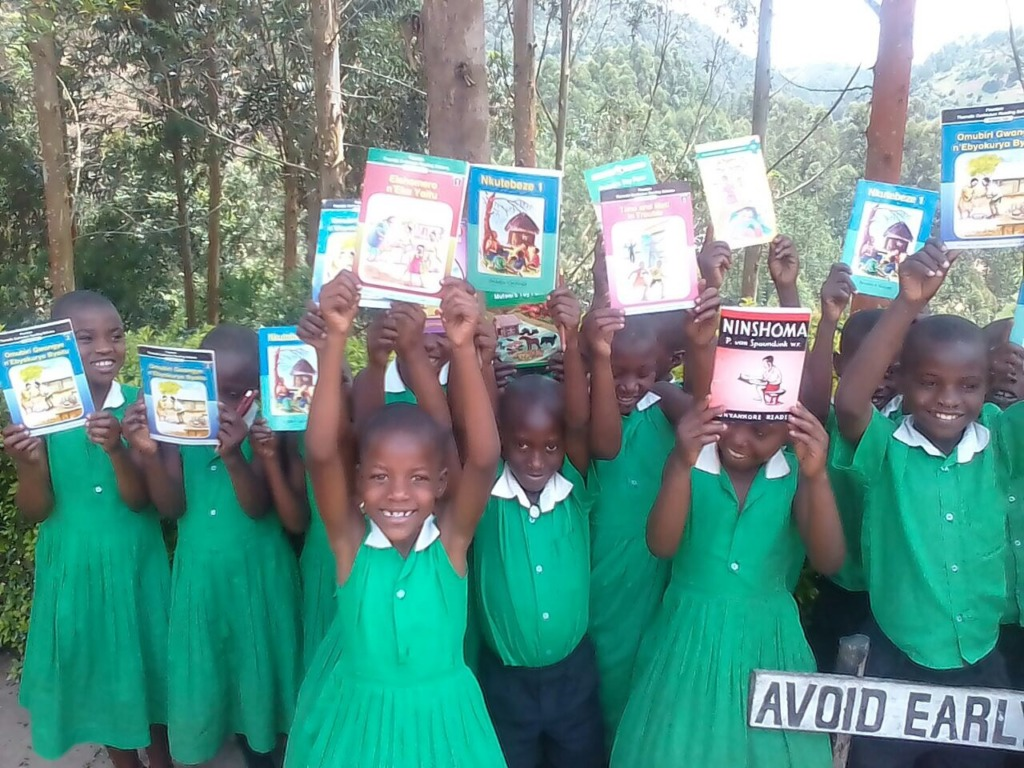 Kutamba Primary School students on DEAR Day