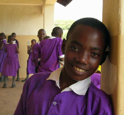 Photo-- Bruno at Nyaka