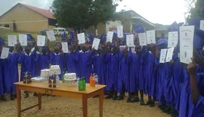 Nyaka P.7 graduation