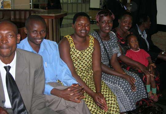 Photo-- Nyaka faculty