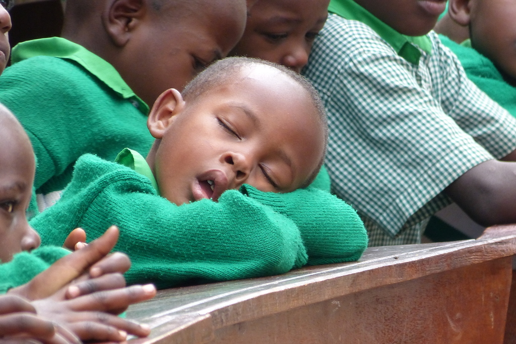 Little Kutamba Student Sleeping